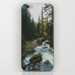 White Chuck River - Pacific Crest Trail, Washington iPhone Skin