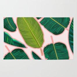 Banana Leaf Blush #society6 #decor #buyart Rug