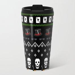 Rock N Roll Christmas Travel Mug