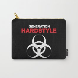 Generation Hardstyle Music Quote Carry-All Pouch
