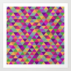 In Love with ▲ Art Print