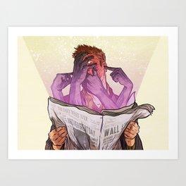 Fresh Disinformation Art Print