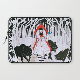 Amongst Wolves Laptop Sleeve