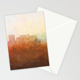 El Paso Texas Skyline - In the Clouds Stationery Cards