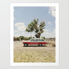 The El Cosmico Art Print