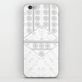 vintage mandala tile iPhone Skin