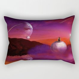 Spherical Thinking Rectangular Pillow