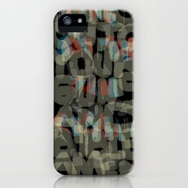 HANGIN' ON FOR THE REPUBLIC iPhone Case