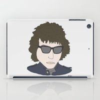 bob dylan iPad Cases featuring Bob Dylan by Hello Small World