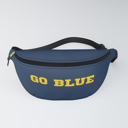 Go Blue Fanny Pack