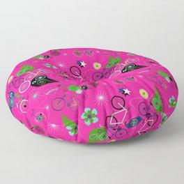 Cycledelic Pink Floor Pillow