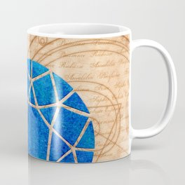Magical Sapphire - Illustration Gems Coffee Mug