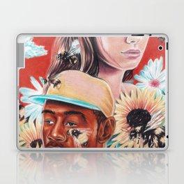 flower boy + girl Laptop & iPad Skin