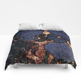 GEMSTONE & GOLD INDIGO Comforters