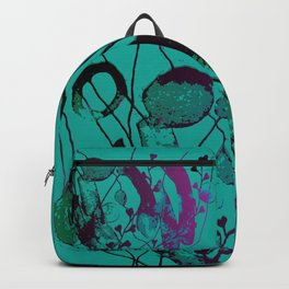 turquoise underwater Backpack