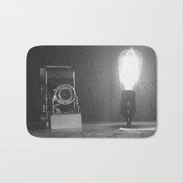 vintage camera Bath Mat