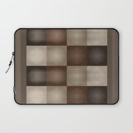 Abstract Earth Tones Laptop Sleeve