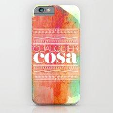 Cualquier cosa Slim Case iPhone 6s