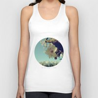 blossom Tank Tops featuring Blossom by yuvalaltman