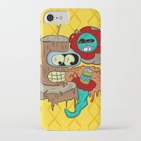 bender iPhone & iPod Cases featuring Wooden Bender by TheArtistKAFA