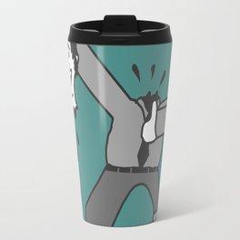 AHEAD OF THE GAME, OR SOMETHING LIKE THAT.... Travel Mug