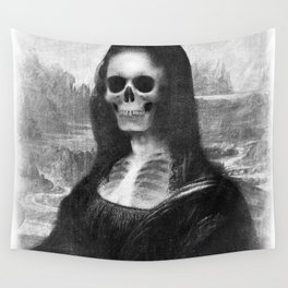 Mona Lisa - Xray Wall Tapestry
