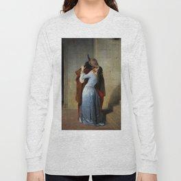 Francesco Hayez, The Kiss, 1859 Long Sleeve T-shirt