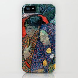 Memory of the Garden at Etten (Ladies of Arles) iPhone Case