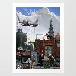 Bankside Hull Art Print
