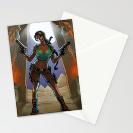 Tomb Raided Stationery Cards