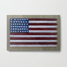 Stars & Stripes Metal Print