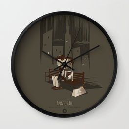 Annie Hall Wall Clock