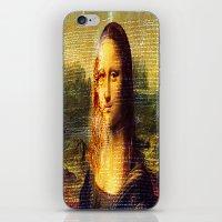 da vinci iPhone & iPod Skins featuring The Da Vinci Code by  Agostino Lo Coco