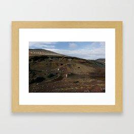 Valley (Iceland) Framed Art Print