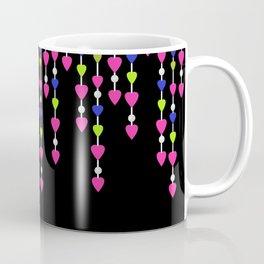 Pearl beads and hearts .2 Coffee Mug