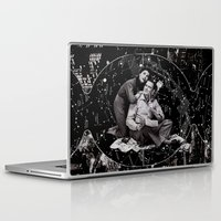 astronomy Laptop & iPad Skins featuring Amateur Astronomy by Joellart
