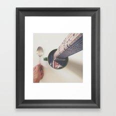 Evening breakfast with Supertramp Framed Art Print