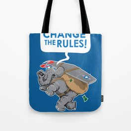 CHANGE The RULES Tote Bag