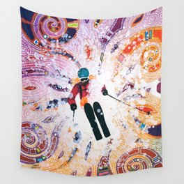 Powder Princess Wall Tapestry