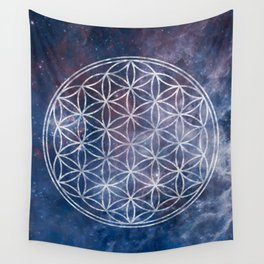 Sacred Geometry Universe 5 Wall Tapestry