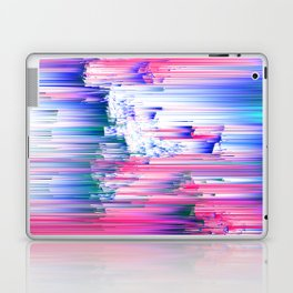 Only 90s Kids - Pastel Glitchy Abstract Pixel Art Laptop & iPad Skin