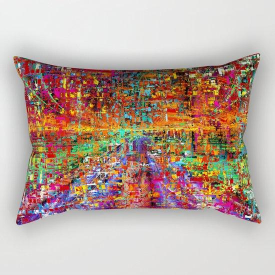 colourful peace Rectangular Pillow