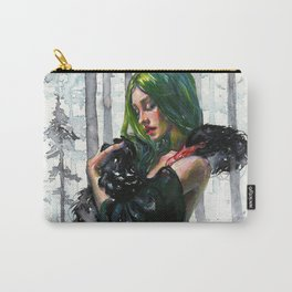 Black Swan Feelings Carry-All Pouch
