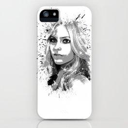 avril lavigne desain 001 iPhone Case