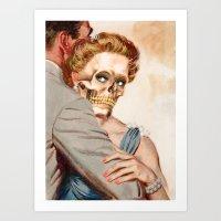 ginger Art Prints featuring GINGER by Julia Lillard Art