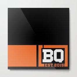 BQ - Flagging Orange Metal Print