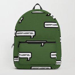 Sempiternal - Green Backpack