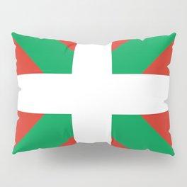 Basque Country: Euskaldun Flag Pillow Sham