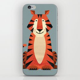 Whimsy Tiger iPhone Skin