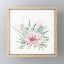 Desert Rose #society6 #buyart Framed Mini Art Print